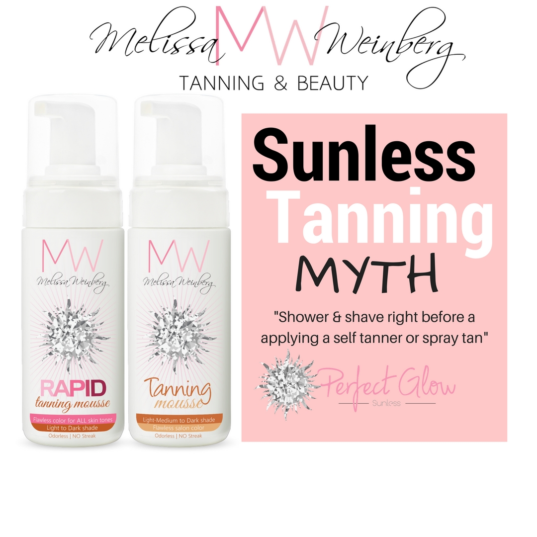 Self tanning myths - How to properly prep for a sunless tan - Melissa  Weinberg Tanning & Beauty®